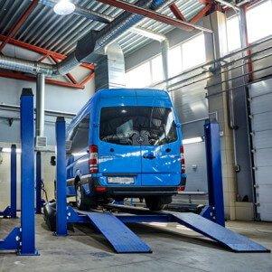 Ремонт микроавтобусов Mercedes Sprinter