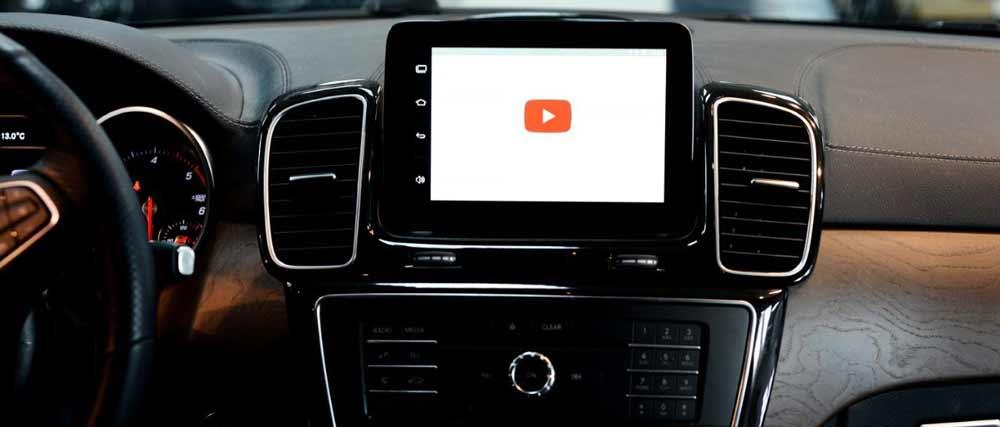 Установка мультимедийной системы Android на Mercedes-Benz