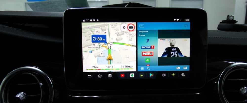Установка мультимедийной системы Android на Мерседес