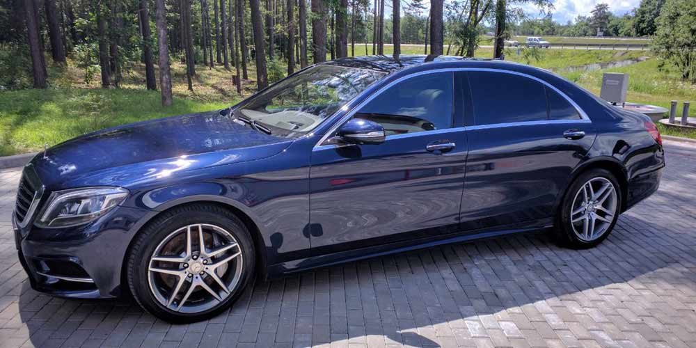 Нанесение керамического покрытия на кузов Mercedes