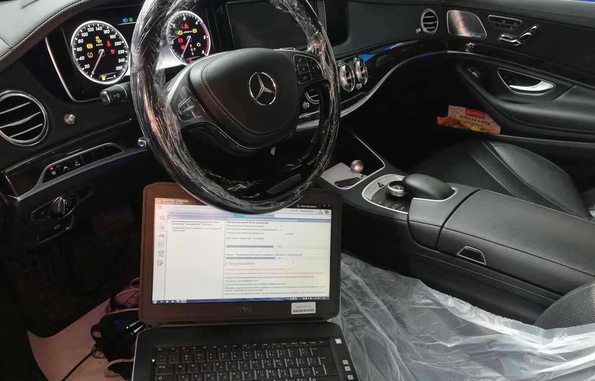 Обновление ПО Mercedes